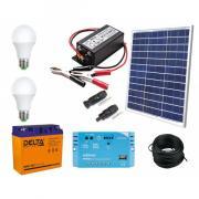 EcoNRJ.ru Солнечная электростанция 0.3 кВт*ч в сутки