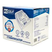 Стабилизатор напряжения RUCELF SRF-1000 СUBE однофазный 220 В 0,45 кВА релейный переносной