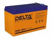 Delta DTM 1207 (12V / 7Ah), Аккумуляторная батарея