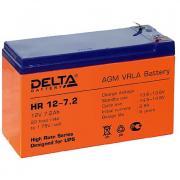 Delta HR 12-7,2 (акб) Аккумуляторная батарея 12В-7,2Ач. (151*65*94, 2,55 кг)