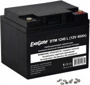 Аккумуляторная батарея Exegate DTM 1240 L