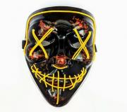 Неоновая маска Судная ночь (Желтый)