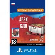 Игровая валюта PS4 Sony Apex Legends: 6700 Coins