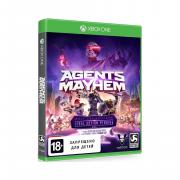 Игра Agents of Mayhem для xbox One