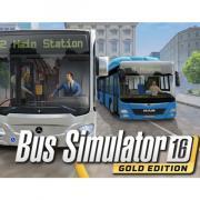 Цифровая версия игры PC Astragon Bus Simulator 16 Gold Edition