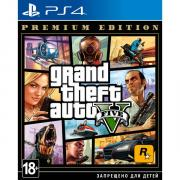 PS4 игра Take-Two Grand Theft Auto V. Premium Edition