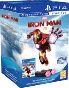 Marvel's Iron Man VR (только для VR) + PlayStation Move (2 контроллера движения) [PS4, рус. версия]