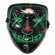 Неоновая маска Судная ночь (Зеленый)