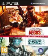 Tom Clancy's. Rainbow Six Vegas 2 & Ghost Recon. Advanced Warfighter 2 [PS3, Английская версия]