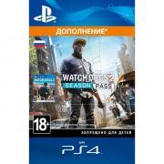 Дополнения для игр PS4 Sony Watch_Dogs 2 Season Pass