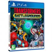 PS4 игра Bandai Namco Transformers: Battlegrounds
