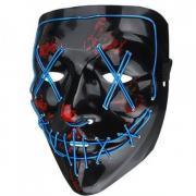 Неоновая маска Судная ночь (Синий)
