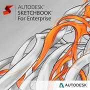 ПО по подписке (электронно) Autodesk SketchBook - For Enterprise 2019 New Single-user ELD Annual