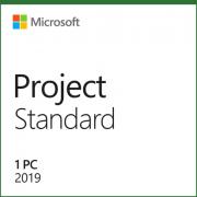 076-05775 Лицензия Microsoft Project Standard 2019 32/64 Russian CEE Only EM DVD