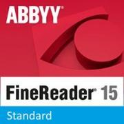 Подписка (электронный ключ) ABBYY FineReader PDF 15 Standard 1 year