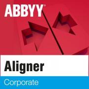 Право на использование ABBYY Aligner 2.0 Corporate Корпоративная лицензия на неограниченный срок Full