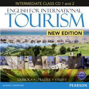 Peter Strutt. English for International Tourism: Intermediate Class (аудиокнига на 2 CD) ISBN 978-1-4479-0351-2.