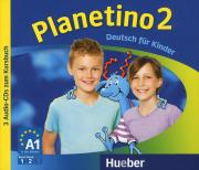 Planetino 2: Deutsch fur Kinder (аудиокурс на 3 CD)