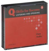 Q: Skills for Success 5: Listening and Speaking: Class CD (аудиокурс на 4 CD-ROM) ISBN 978-0-19-475609-9.