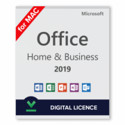 Ключ Microsoft Office 2019 Home and Business для Mac(для дома и бизнеса)