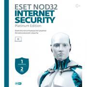 Антивирус ESET NOD32 Internet Security 1 устройство на 2 года