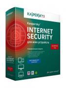 Программное обеспечение Kaspersky Internet Security Rus 2-Device 1 year Base Box KL1939RBBFS