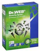 DR.Web Security Space 3 ПК на 1 год BHW-B-12M-3-A3