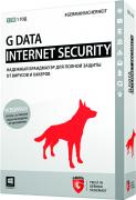 G Data InternetSecurity 1 год 3 ПК (10023)