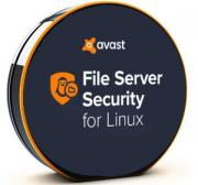 Право на использование (электронно) AVAST Software avast! File Security for Linux, 1 year, 5-9 users