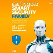 Антивирус ESET NOD32 Smart Security 5 устройств на 1 год