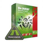 Антивирус DR.WEB Security Space, картонная упаковка, на 12 месяцев, на 2 ПК ( AHW-B-12M-2-A2 )
