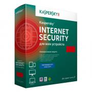 Антивирус Kaspersky Internet Security на 1 год на 3 устройства [KL1941RBCFS] (Box)