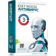 Антивирус Eset Nod32 Rus (для 3 ПК на 1 год или прод на 20 мес) box