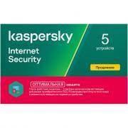 Антивирус Касперского Internet Security Multi-Device продление для 5 ПК на 1 год