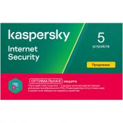 Антивирус Лаборатория Касперского Kaspersky Internet Security Multi-Device Russian Edition 5ПК 1 год Renewal Card (KL1941ROEFR)