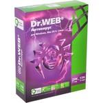 Программное обеспечение Dr.Web Pro картонная упаковка на 12 месяцев на 2 ПК (BHW-A-12M-2A3)
