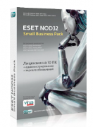 ESET NOD32 Small Business Pack newsale for 3 users (NOD32-SBP-NS(KEY)-1-3)