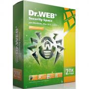 Антивирус Dr.Web Security Space (2 ПК на 2 год)