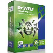 Антивирус Dr.Web Security Space (3 ПК на 1 год)