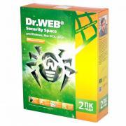 Программное обеспечение Dr.Web Security Space 2 ПК/2 года BHW-B-24M-2-A3