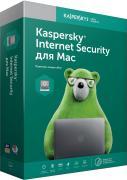 Антивирус Kaspersky Internet Security для Mac продление на 1 ПК на 1 год [KL1230RDAFR] (электронный ключ)