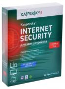 Антивирус Kaspersky Internet Security на 1 год на 2 устройства [KL1941RBBFS] (Box)
