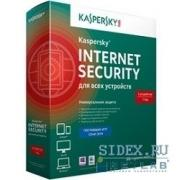 Kaspersky Internet Security Multi-Device Russian Edition 5-Device 1 year Base Box (KL1941RBEFS) - Программное обеспечение
