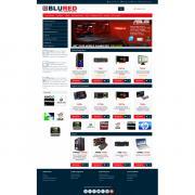 BLURED - Универсальный адаптированный шаблон для Opencart 3