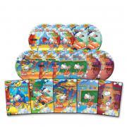 Набор 2-го альбома Kid Korea Toopy and Soap из 10 DVD 5 аудио компакт-дисков, 10 компакт-дисков