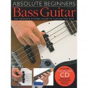 Absolute Beginners Am92616 Bass Guitar: Самоучитель игры на бас-гитаре для начинающих (book + Cd)