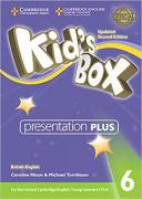 Caroline Nixon, Michael Tomlinson. Kid's Box Updated edition 6 Presentation Plus DVD-ROM ISBN 9781316628058.
