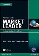 David Cotton, David Falvey and Simon Kent. Market Leader 3rd Edition Pre-intermediate ActiveTeach CD-ROM ISBN 9781408259979.