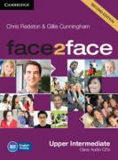 Chris Redston and Gillie Cunningham. face2face (Second Edition) Upper-intermediate Class Audio CDs (3) (Лицензия) ISBN 4623720783648.