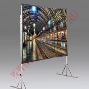 """Draper: Мобильный проекционный экран Draper Cinefold NTSC (3:4) 229/90"""" 127*178 XT1000V"""